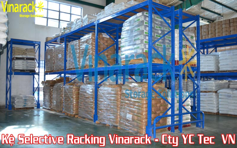 Kệ chứa hàng Selective Pallet Racking