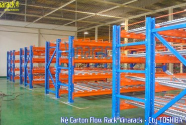 Kệ Carton Flow Rack-Toshiba